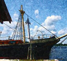 The Square-Rigger 'Joseph Conrad' by RC deWinter