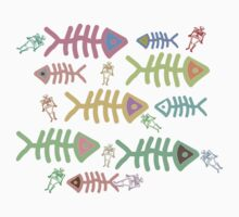 Swimming with the Fishes T-Shirt T-Shirt