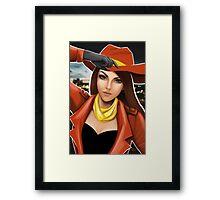 Carmen Sandiego Framed Print