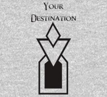 Skyrim - Your Destination One Piece - Short Sleeve