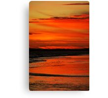 Orange Sand Canvas Print