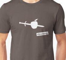 #Snowing Unisex T-Shirt