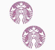 Starbucks Mermaid Pink Glitter Logo by sofram