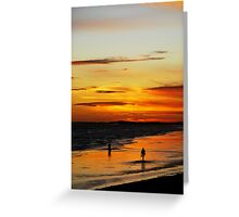Photographers Silhouettes Greeting Card
