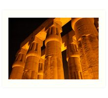 Luxor  Art Print