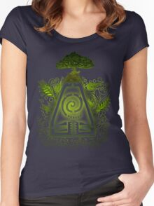 Tribal Earth. Women's Fitted Scoop T-Shirt