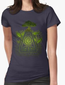 Tribal Earth. Womens Fitted T-Shirt