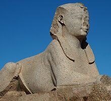 Sphinx in Alexandria by warriorprincess