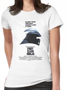 Stanley Kubrick's Foot Clan Ninja Womens Fitted T-Shirt