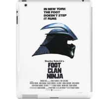 Stanley Kubrick's Foot Clan Ninja iPad Case/Skin
