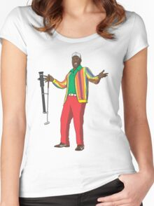 CaddyShaq Women's Fitted Scoop T-Shirt