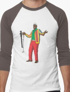 CaddyShaq Men's Baseball ¾ T-Shirt
