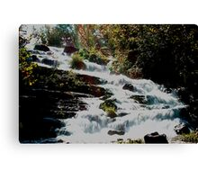 Papoose Falls Canvas Print