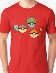 Choose Your Starter Red   T-Shirt