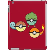 Choose Your Starter Red   iPad Case/Skin