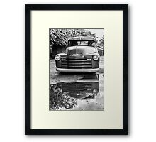 Chevy reflection  Framed Print