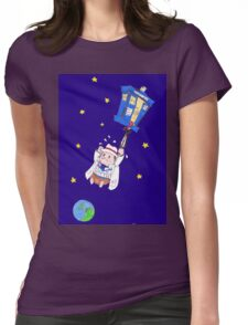 oops Womens Fitted T-Shirt