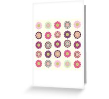 Flowers patch Greeting Card