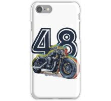 Harley Davidson 48 iPhone Case/Skin