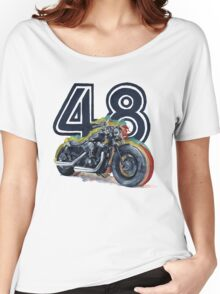 Harley Davidson 48 Women's Relaxed Fit T-Shirt