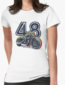 Harley Davidson 48 Womens Fitted T-Shirt