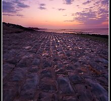 Cobbled path to the golden hour by Shaun Whiteman