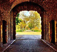 Kalemegdan Fortress Gate Belgrade by stockfineart