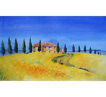 Il Cipressino Tuscany Photographic Print