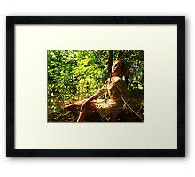 Nature's child 2 Framed Print