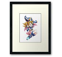 Dark Magician Girl Framed Print