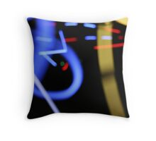 Light and Speed Throw Pillow