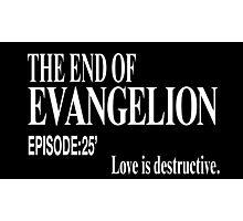 Ep.25 Love is destructive. Photographic Print