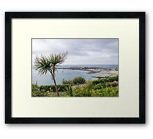 Lyme Regis Overlook - May 2015 Framed Print
