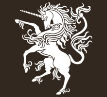 UNICORN RAMPANT by OTIS PORRITT
