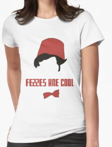 fezzes are cool Womens Fitted T-Shirt