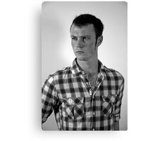 Shane Portrait Canvas Print
