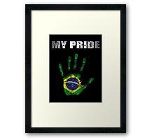 Brazil My Pride Framed Print