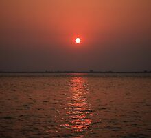 Sunrise over the islands by kathy s gillentine