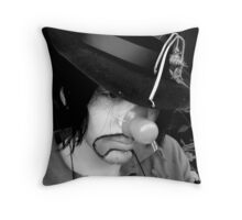 Funny Sad Throw Pillow