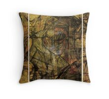 """ Rhythm "" by Miguel Hine Throw Pillow"