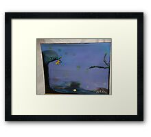 Willow wisp Framed Print