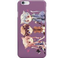mirai nikki future diary yuno gasai anime manga shirt iPhone Case/Skin