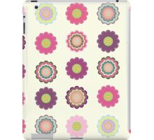 Flowers patch iPad Case/Skin