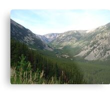 The Hanging Valley Metal Print