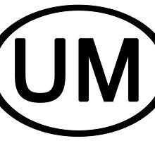 Umphreys McGee UM Euro Car Sticker by highbankspro