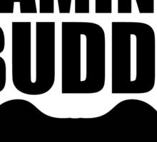 future gaming buddy Sticker