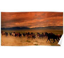 Galloping Thunder  Poster