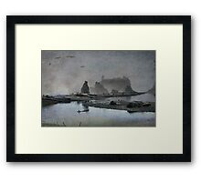 Once upon a time....Ruby Beach Framed Print