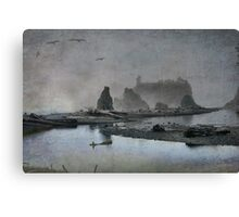 Once upon a time....Ruby Beach Canvas Print