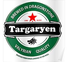 Targaryen Brewing Co. Poster
